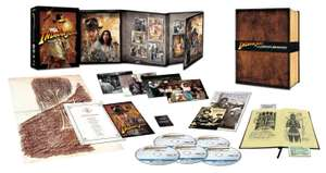 Coffret Blu-ray Indiana Jones: The Complete Adventures (Deluxe Edition) - VO