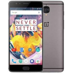 "Smartphone 5.5"" OnePlus 3T (Global Version) Gris - Snapdragon 821, RAM 6 Go, ROM 64 Go, Plug UK (Avec B20)"