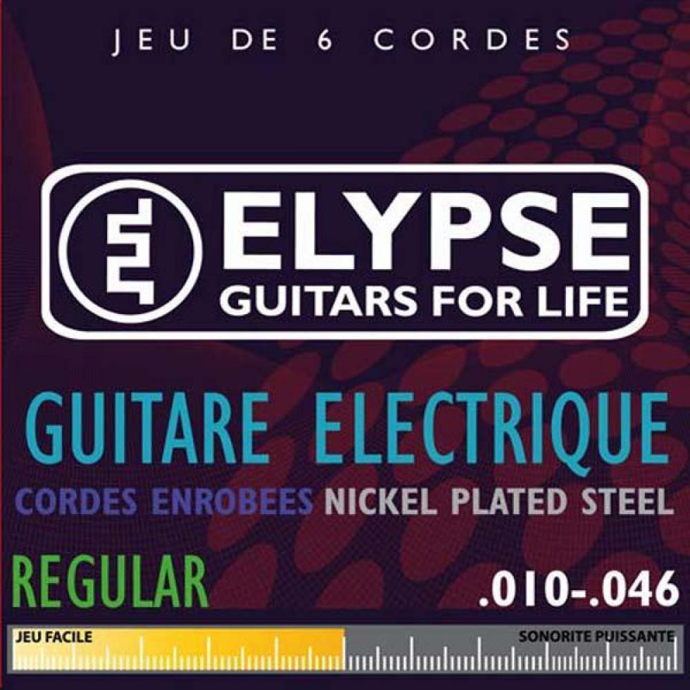 Sélection d'accessoires pour guitaristes /  bassistes en promo - Ex : Jeu de cordes Elypse