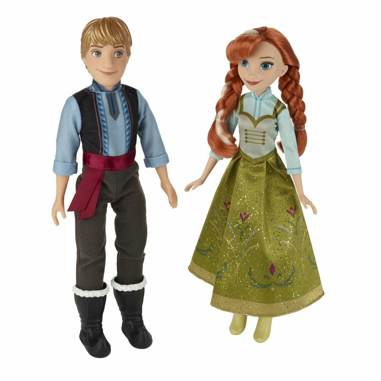 Pack de 2 Poupées Anna & Kristoff Disney Princesses