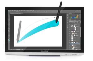 Tablette graphique Huion GT-220 21.5'' V2 - Avec stylet, Full HD