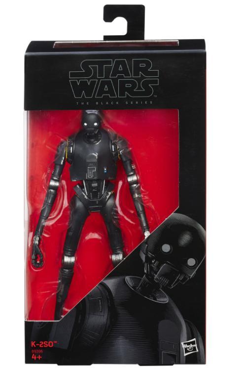Star Wars Rogue One Figurine K-2so Black Series