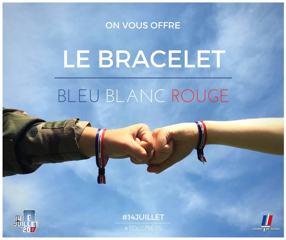 Jusqu'à 3 bracelets français offerts