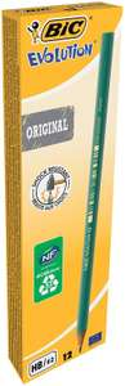 [Panier Plus] Boîte de 12 Crayons à Papier BIC Evolution Original HB