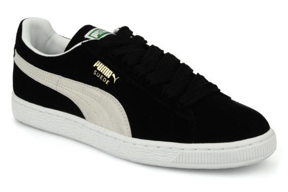 Chaussures Puma Suede Classic + - noir (tailles 43, 44 ou 46)