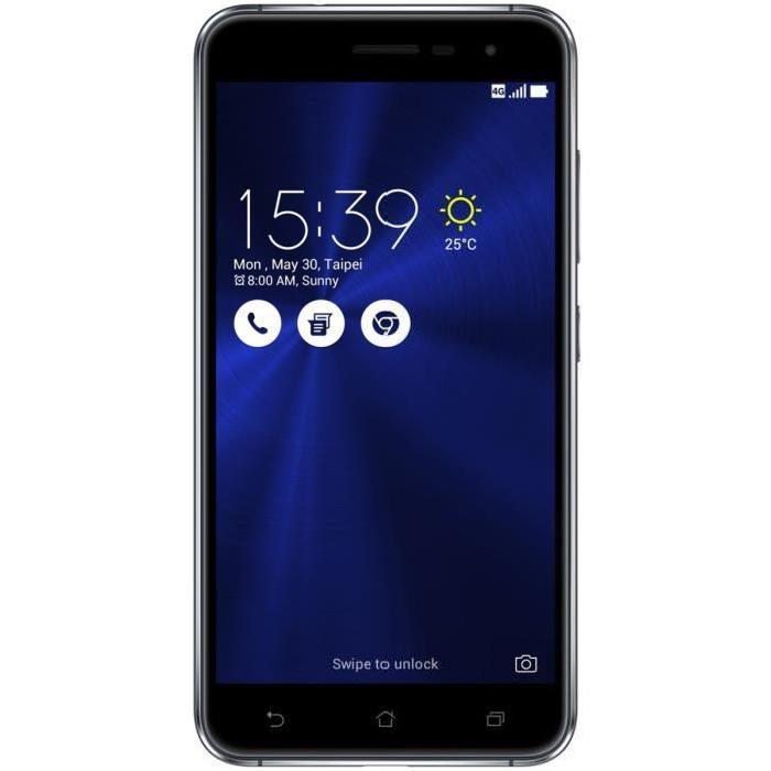 "Smartphone 5.5"" ZenFone 3 ZE552KL - 64Go, 4Go de Ram, 4G (via ODR de 50€)"