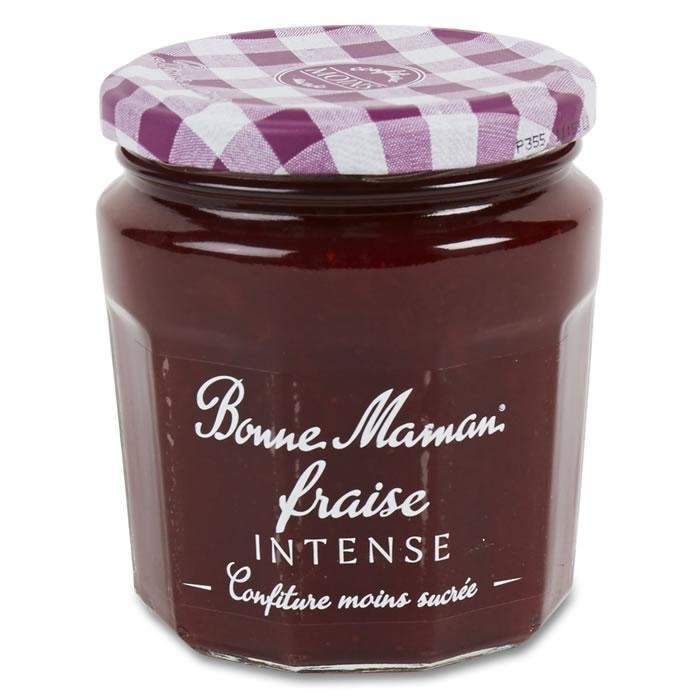 1 Pot de Confiture de Fraise intense Bonne maman (via Shopmium)