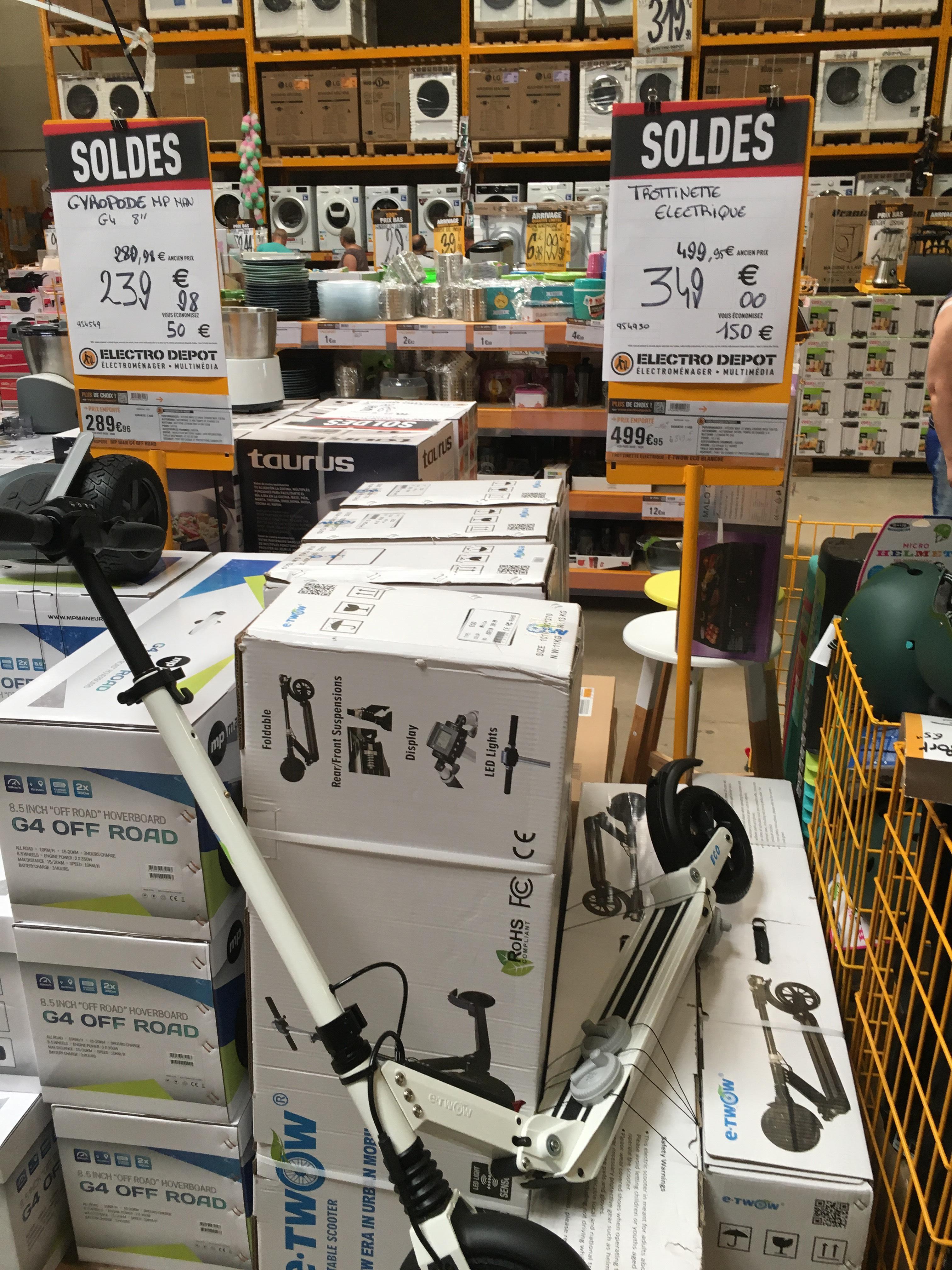 Trottinette électrique e-twow eco