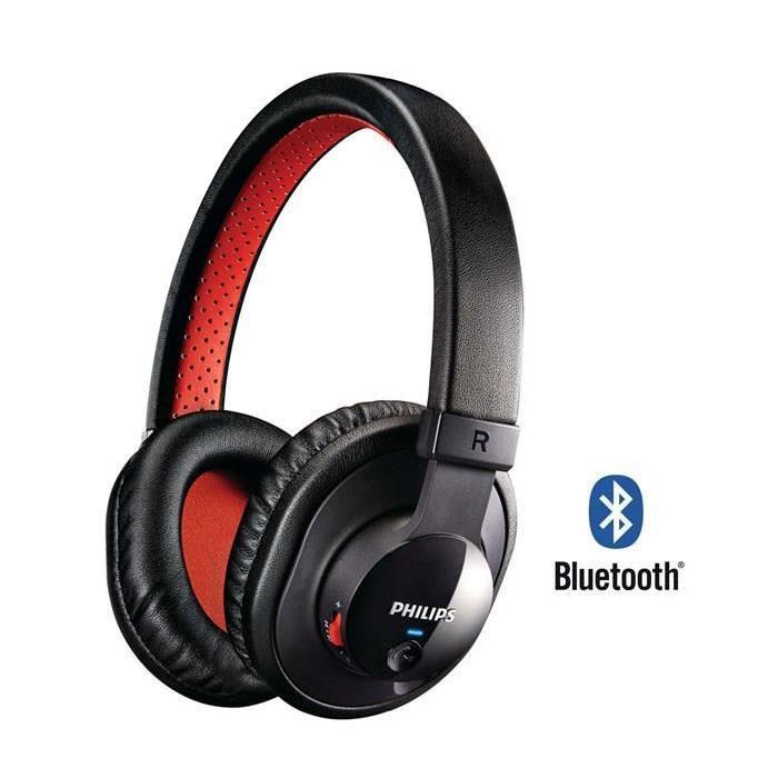 [E-Réservation] Sélection de produits Philips en Promotion - Ex: Casque Audio Sans-fil SHB7000 (Rouge, Bluetooth)