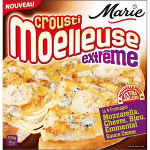 Pizza crousti moelleuse Marie
