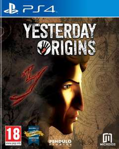 Yesterday Origins sur PS4