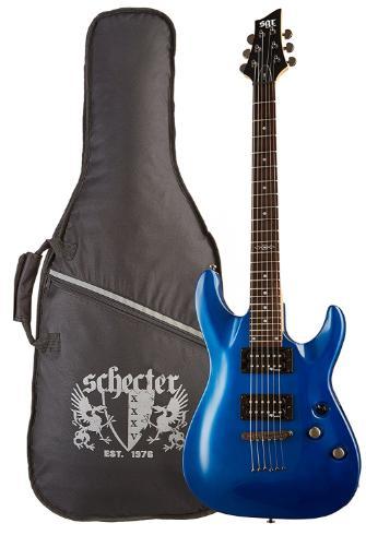 [Prime] Guitare Electrique SGR by Schecter C-1 - Bleu + Housse (Noir)