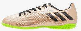 Chaussures de Football en Salle Adidas Performance Messi  Copper Metallic pour Hommes 16.4 IN - Tailles au choix