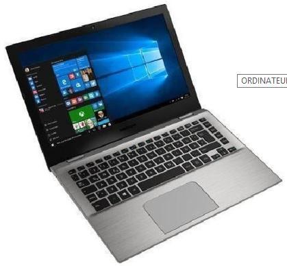 """PC Portable 13.3"""" Medion S3409 - Full HD, i5-7200U, RAM 4Go, SSD 256Go, Windows 10"""