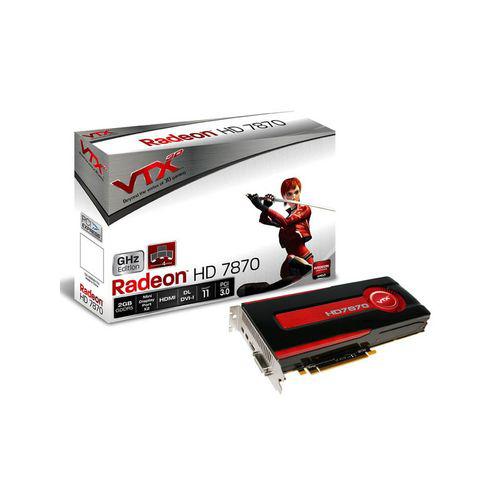 Carte graphique VTX3D Radeon HD7870 - 2 Go - PCI-E + 2 jeux au choix