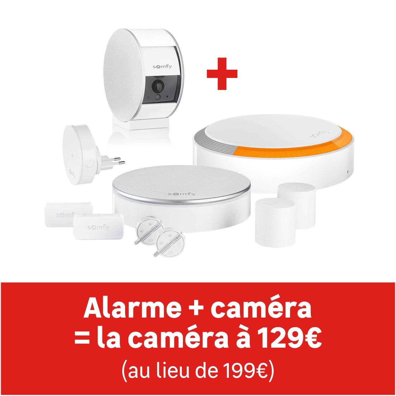 Alarme Somfy Protext XL (499€) + Security Camera