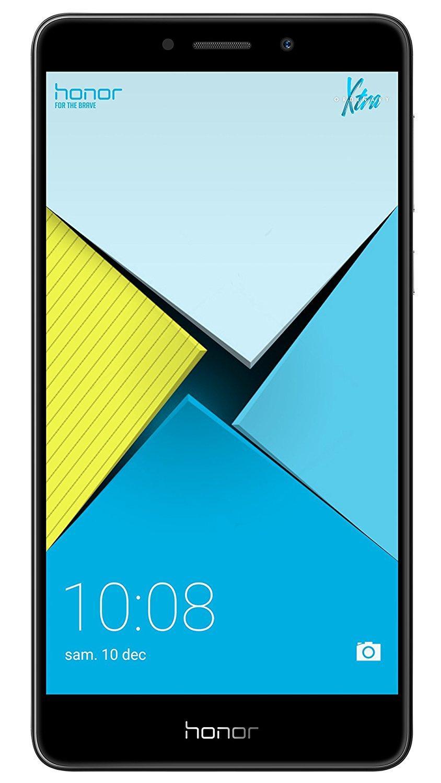 "Smartphone 5.5"" Honor 6X Gris - Full HD, Kirin 655, ROM 32 Go, RAM 3 Go"