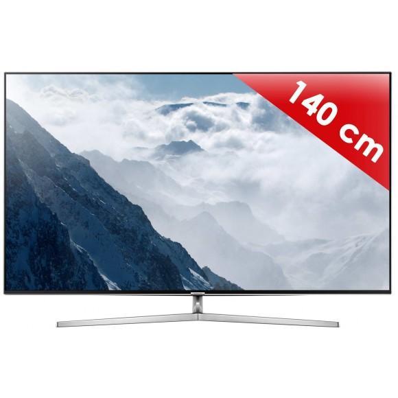 """TV 55"""" Samsung UE55KS8000 - LED, 4K SUHD, Ecran Quantum Dot, Smart TV, 2300 PQI"""
