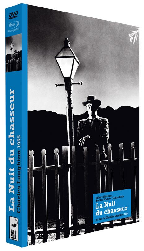 La nuit du Chasseur Collector Blu-ray + DVD + Livre de 200 pages
