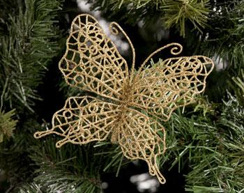 Papillon sur tige + un cadeau au choix (Lot de 4 cocotes céramique par exemple), port inclus