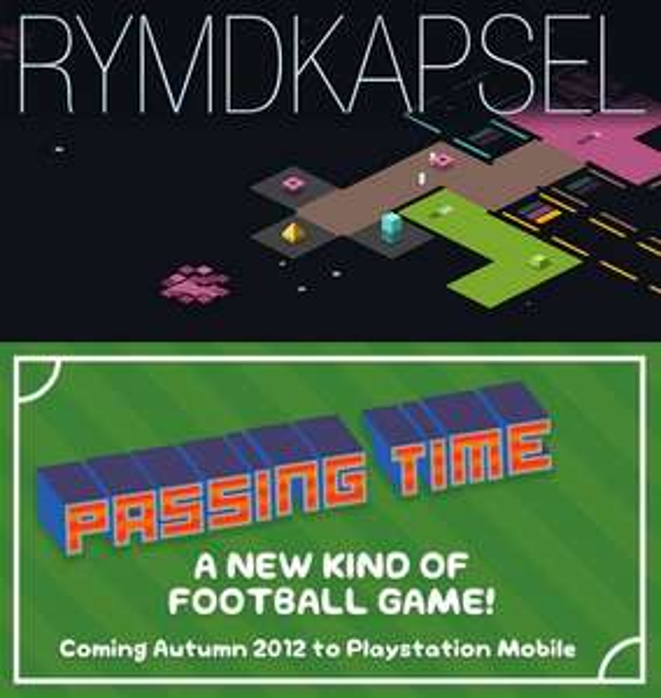 Passing Time et Rymdkapsel gratuits sur PS Vita et smartphones Sony (Festive giveaway)