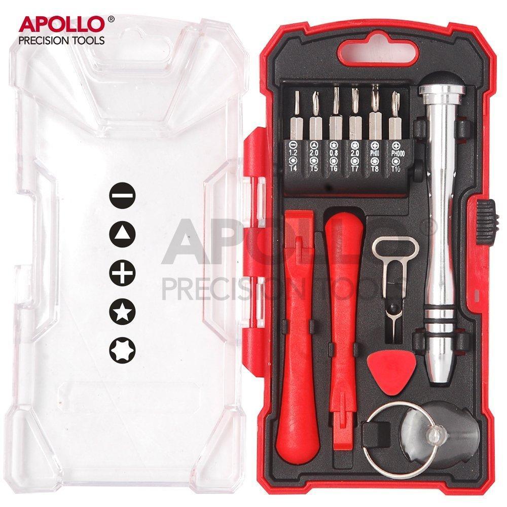 [Panier Plus] Kit d'outils pour réparer un smartphone Apollo - 19 pièces