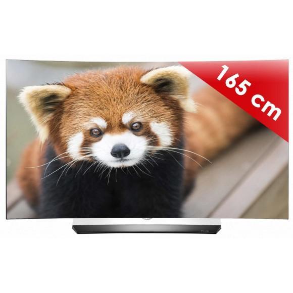 "TV 65"" LG OLED65C6V - OLED, incurvé, UHD 4k"