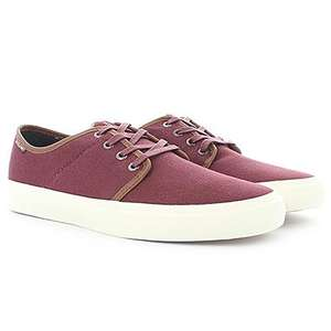 Chaussures Jack and Jones Turbo Canvas bordeaux - Taille 41/43/44/45