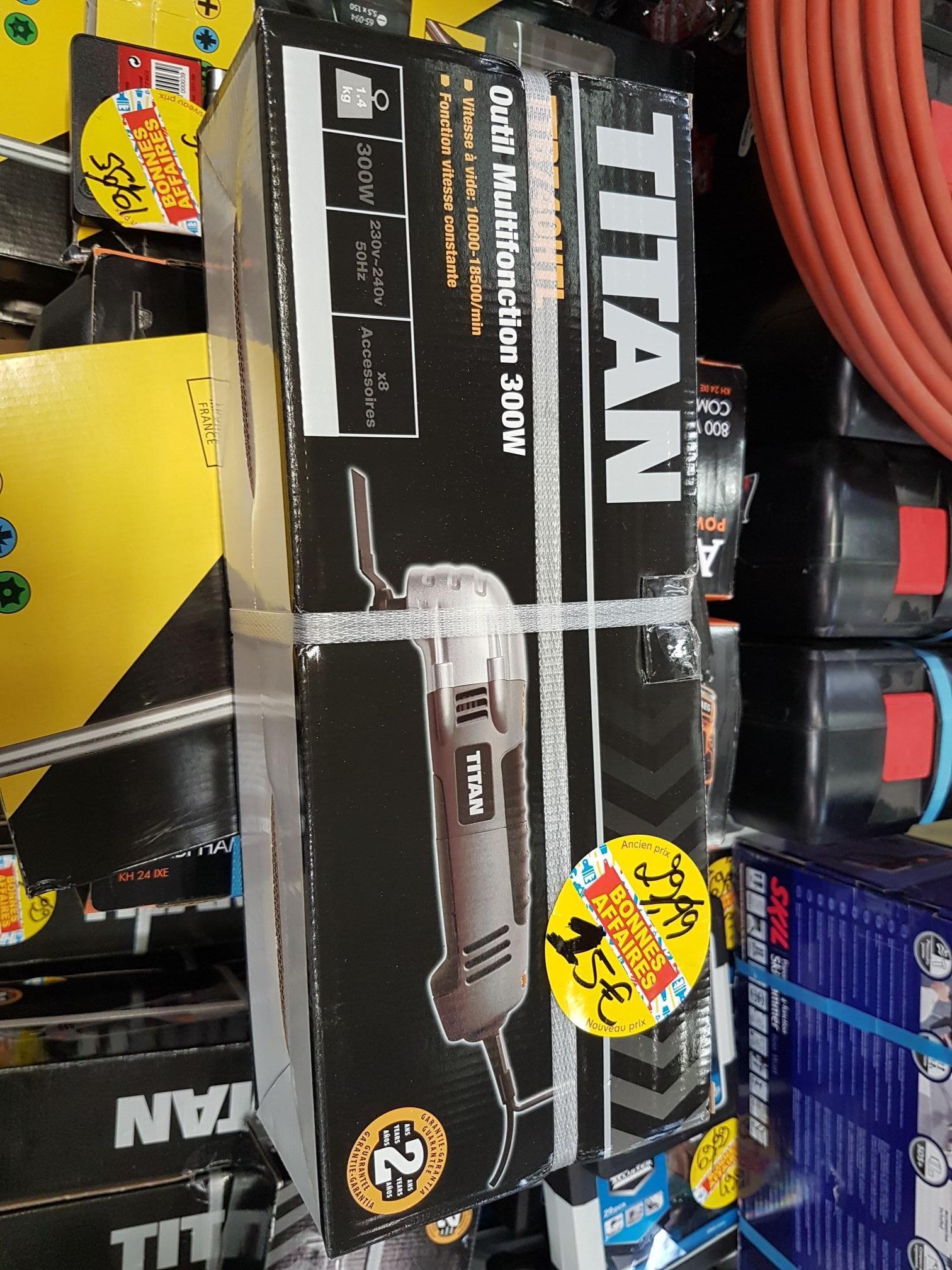 Outil multifonction Titan - 300W