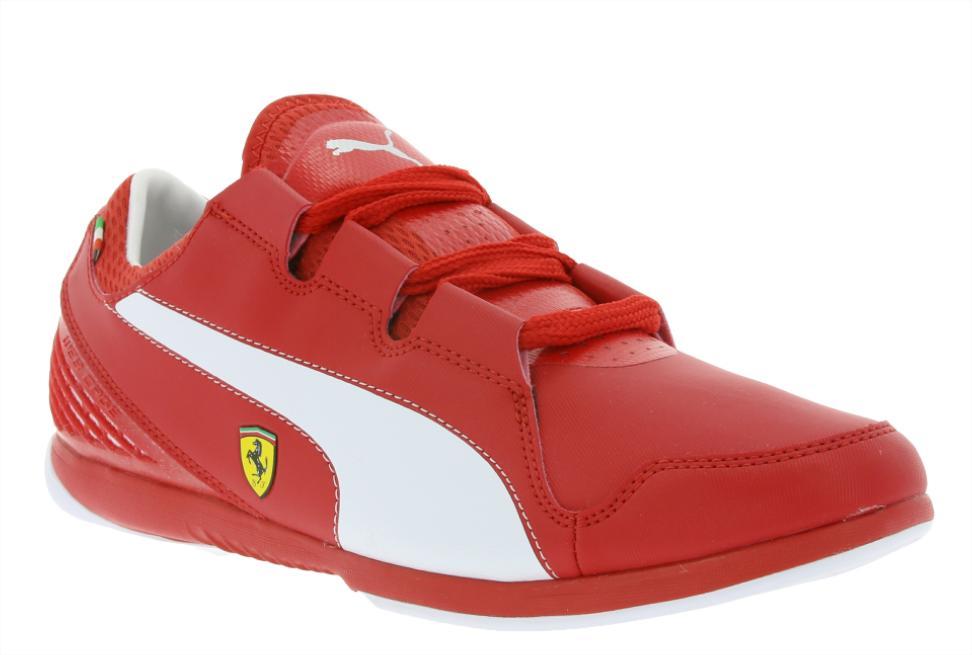 Baskets Puma Ferrari Valorosso SF - Taille 40 à 44, Rouge