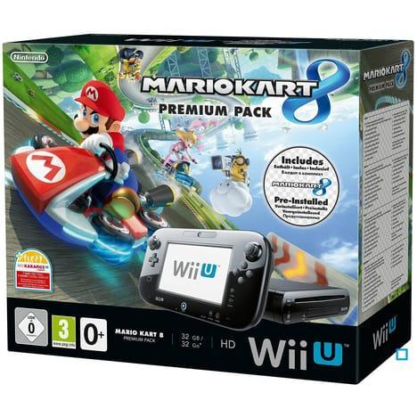 Console Wii U Pack Premium Mario Kart 8