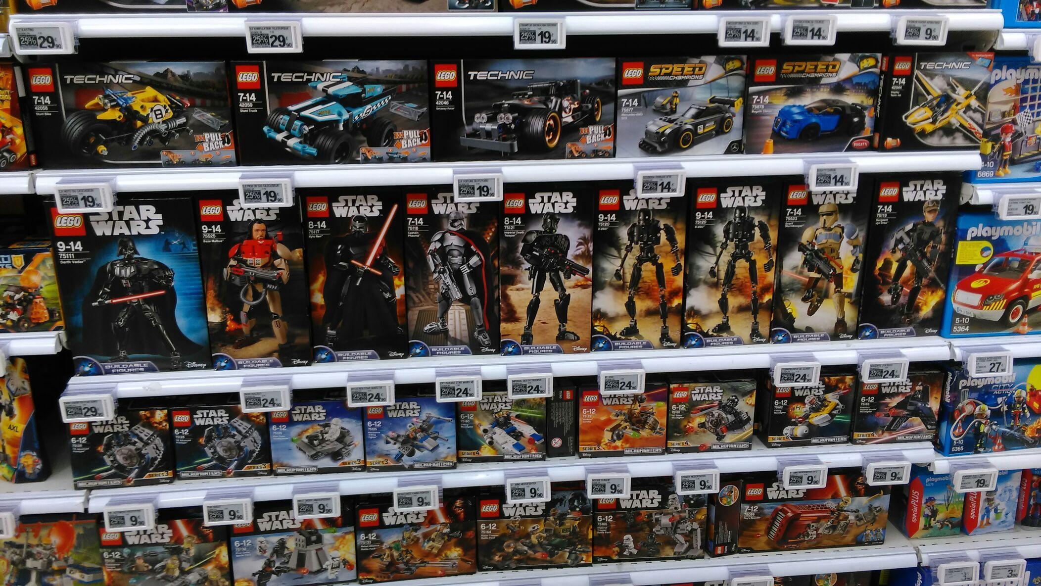 Sélection de Lego (City, Star Wars, Ninjago) avec 25% en ticket Leclerc, ex: Lego Technic (4,98€ en bon d'achat)