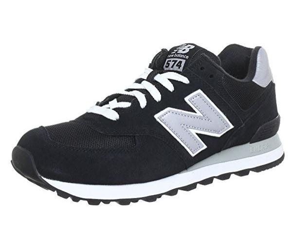 Sneakers Enfant New Balance M574 (Taille 38), noir