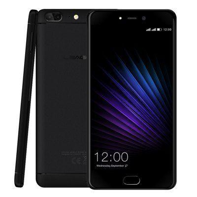 """Smartphone 5,5"""" Leagoo T5 , 4Go Ram , 64 Go Rom, double camera + écouteurs et coque en cadeau (avec B20)"""