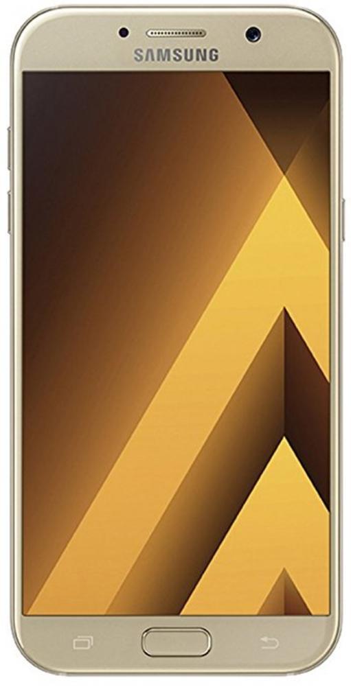"Smartphone 4,7"" HD Super Amoled Samsung Galaxy A3 (2017), 2 Go Ram, 16 Go Rom, 4 coloris dispos : Bleu, Noir, Or et Rose"
