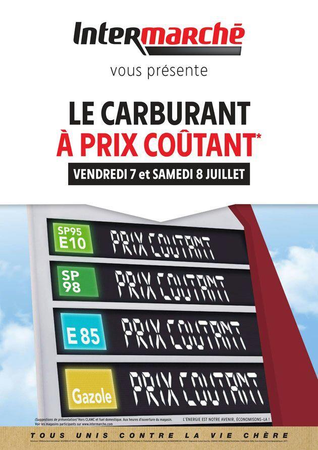Carburant à prix coûtant dans toute la France - Ex : Litre de Gazole à Hoymille (59)