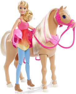 Poupée Cheval de Danse Barbie  DMC30