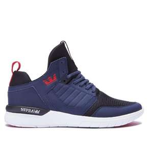 Chaussures Supra Method Homme Navy Blue - (Taille 36 au 47)