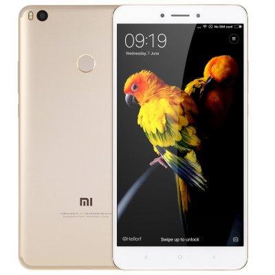 """Smartphone 6.44"""" Xiaomi Mi Max 2 Or - Full HD, Snapdragon 625, RAM 4 Go, ROM 64 Go (Sans B20)"""