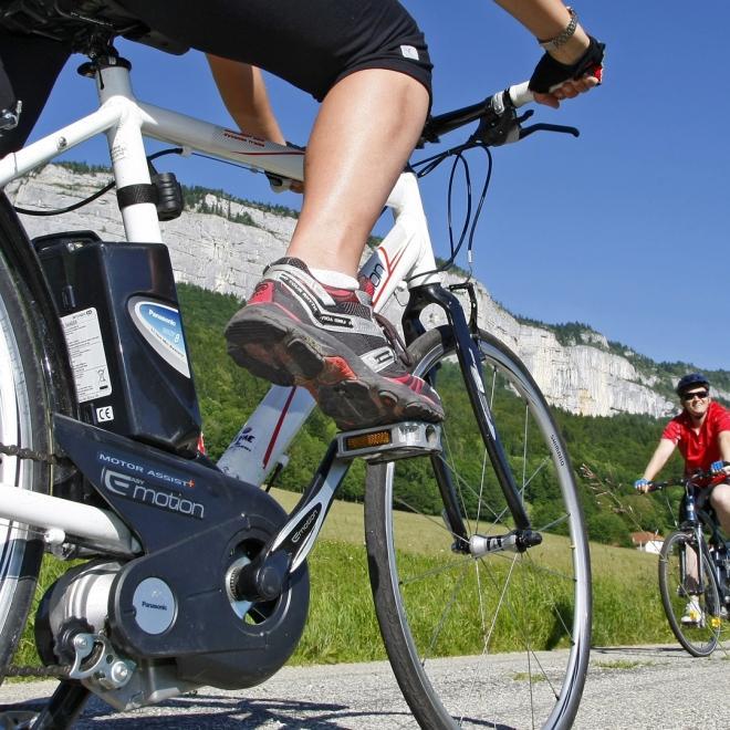 Location de vélos à assistance électrique (durée de 30 minutes à 2 heures)