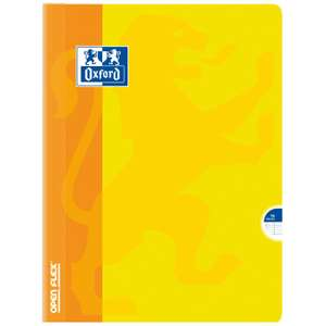 2 cahiers Oxford OpenFlex - 96 pages, 17x22cm (via ODR)