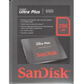 SSD Sandisk Ultra Plus 256 Go SATA 6GB/S