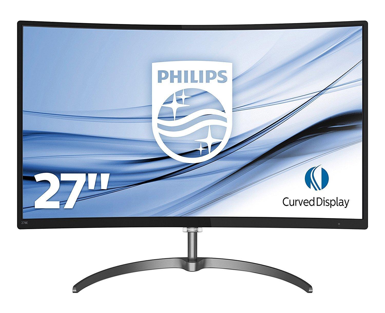 """Ecran 27"""" Philips 278E8QJAB - Full HD, Incurvé, 4 ms, 60Hz, Dalle VA, FreeSync"""