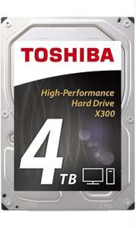 "Disque dur interne 3.5"" Toshiba X300 7200 tr/min - 4 To"
