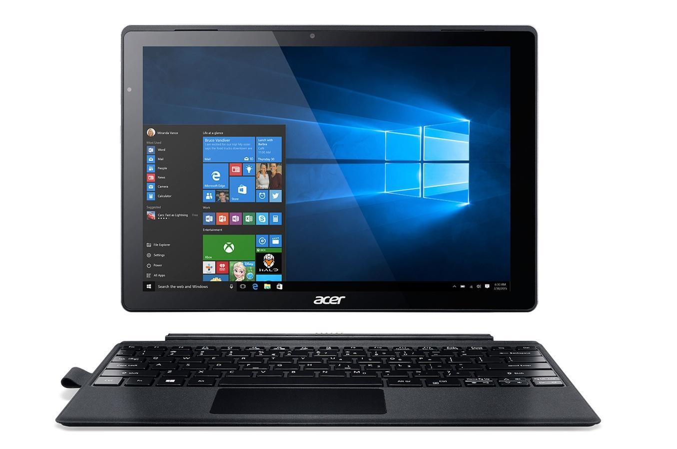 """PC hybride 12"""" Acer Switch Alpha 12 SA5-271P-71R6 (i7-6500U, 8 Go de RAM, 256 Go en SSD) - avec clavier détachable"""