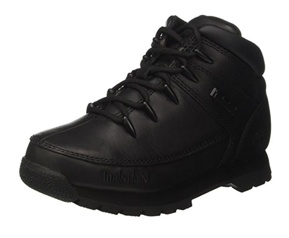 Sélection de chaussure timberland enfant en soldes - Ex: Bottes enfant Timberland Euro Sprintblack - Noir, Taille 32