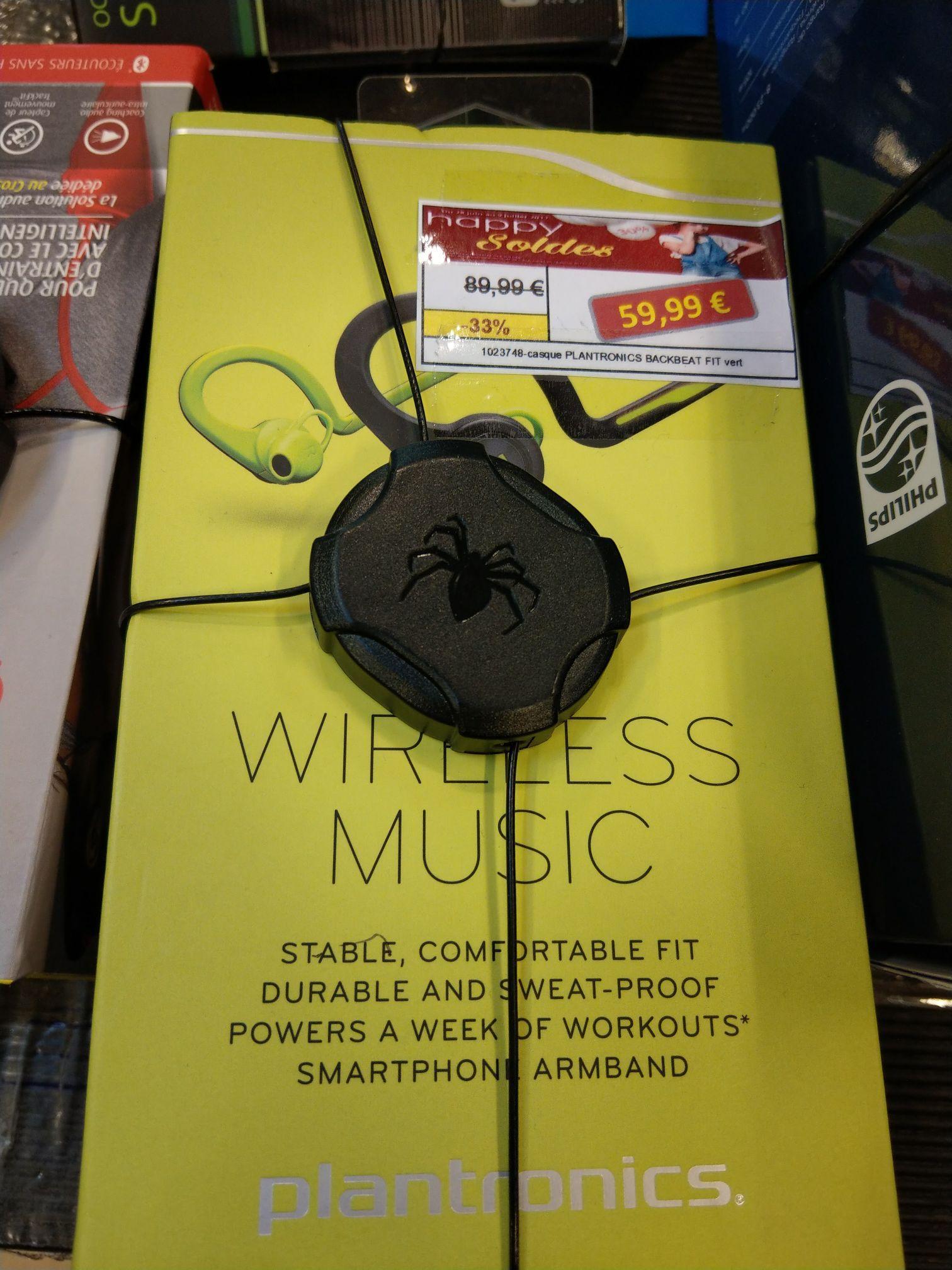 Ecouteurs sans fil Plantronics Backbeat fit wireless