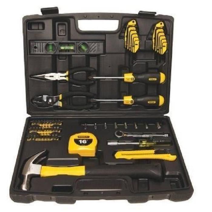 Coffret outils Stanley - 65 pièces