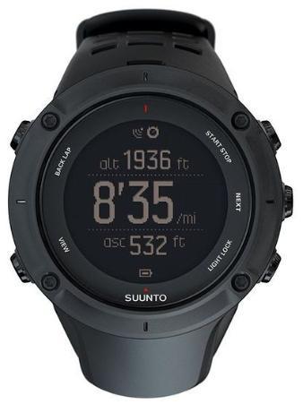 Montre GPS Suunto Ambit 3 Peak avec Ceinture Cardio - Noir
