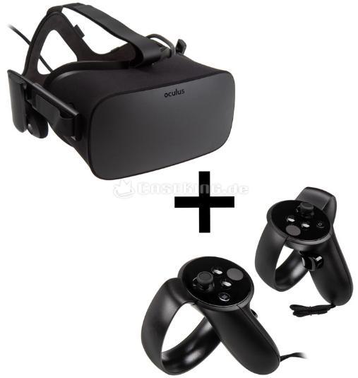 Casque de Réalité Virtuelle Oculus Rift + Contrôleur Oculus Touch Motion